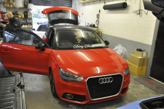 Audi A1 2011 sound proof upgrade 001