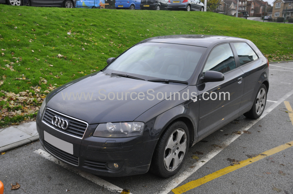 Audi A3 2004 screen upgrade 001