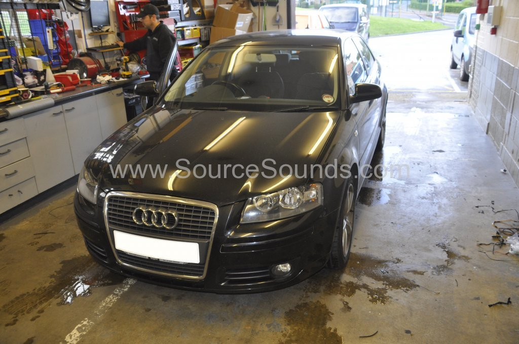 Audi A3 2007 audio upgrade 001