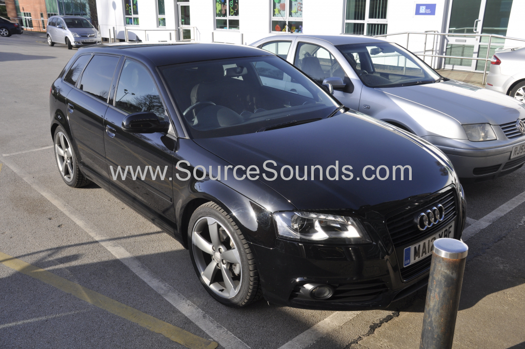 Audi A3 2012 DAB upgrade 001