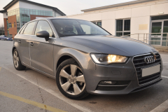 Audi A3 2016 front and rear sensors 001