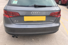 Audi A3 2016 front and rear sensors 004