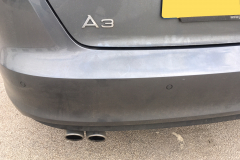 Audi A3 2016 front and rear sensors 005