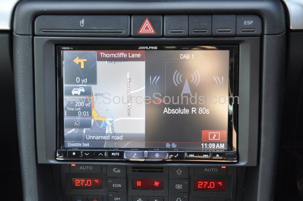 audi a4 2005 navigation upgrade source sounds. Black Bedroom Furniture Sets. Home Design Ideas
