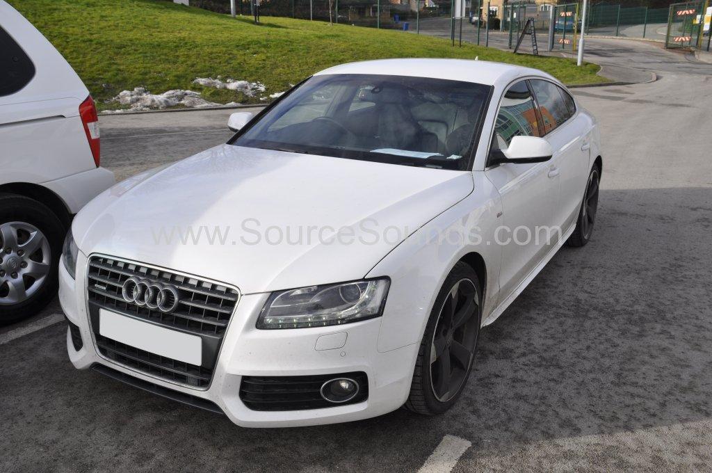 Audi A5 2010 OEM bluetooth upgrade 001