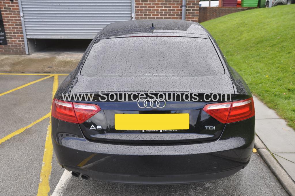 Audi A5 2012 front dash camera 002