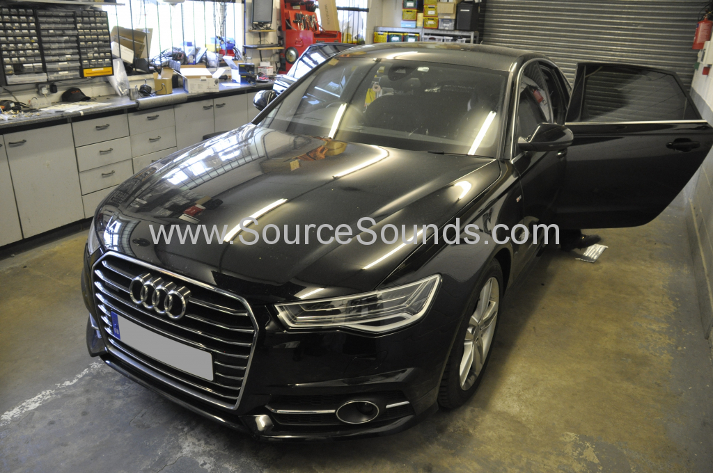 Audi A6 2015 audio upgrade 001