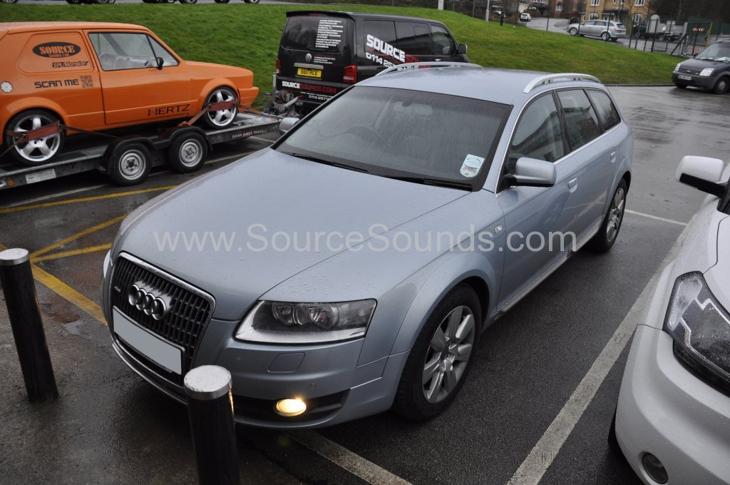 Audi A6 Allroad 2006 bluetooth upgrade 001