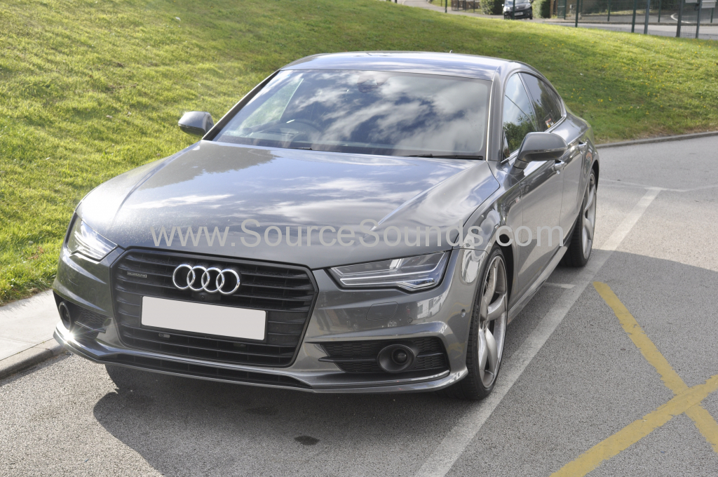 Audi A7 2015 GPS and laser upgrade 001