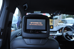 Audi Q7 2015 rear entertainment Rosen 005
