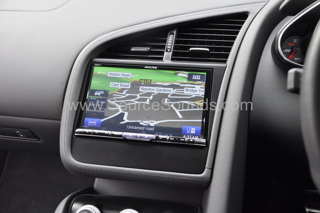 Audi R8 Spyder 2013 Navigation Upgrade Source Sounds