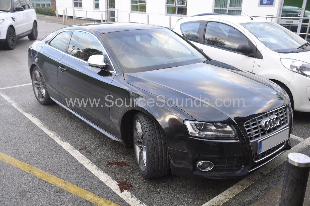Audi S5 2008 reverse camera upgrade 001