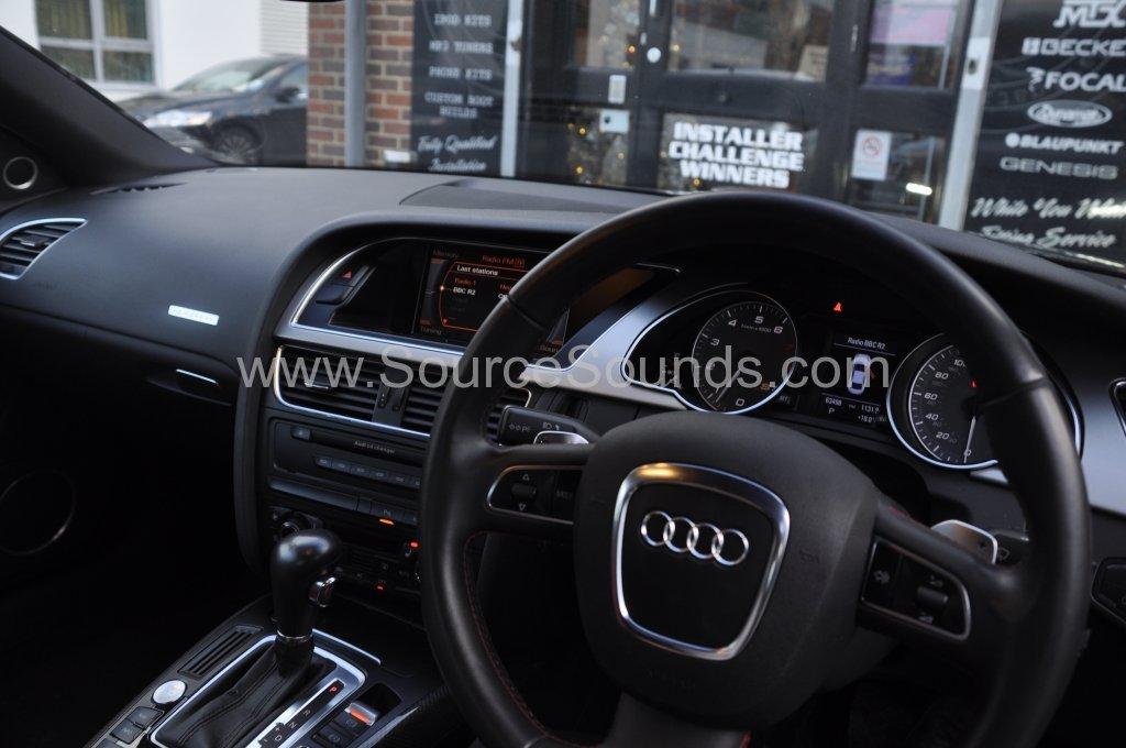 Audi S5 2008 reverse camera upgrade 004