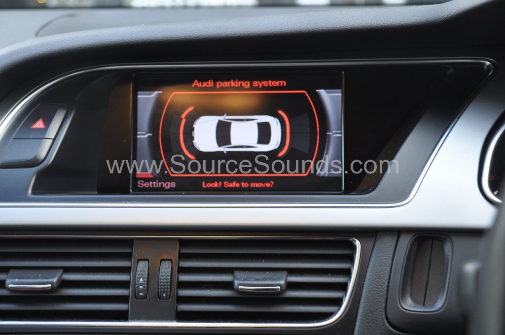 Audi S5 2008 reverse camera upgrade 005