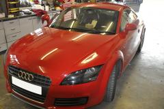 Audi TT 2009 reverse camera upgrade 001