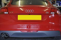 Audi TT 2009 reverse camera upgrade 002