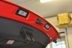 Audi TT 2009 reverse camera upgrade 003