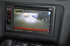 Audi TT 2009 reverse camera upgrade 006