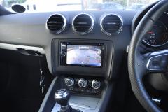 Audi TT 2011 reverse camera upgrade 002