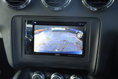 Audi TT 2011 reverse camera upgrade 003