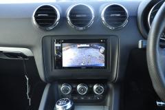Audi TT 2011 reverse camera upgrade 004