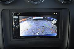 Audi TT 2011 reverse camera upgrade 005