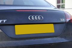 Audi TT 2011 reverse camera upgrade 006