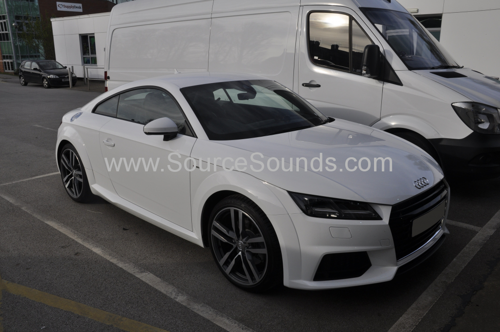 Audi TT 2015 audio upgrade 001