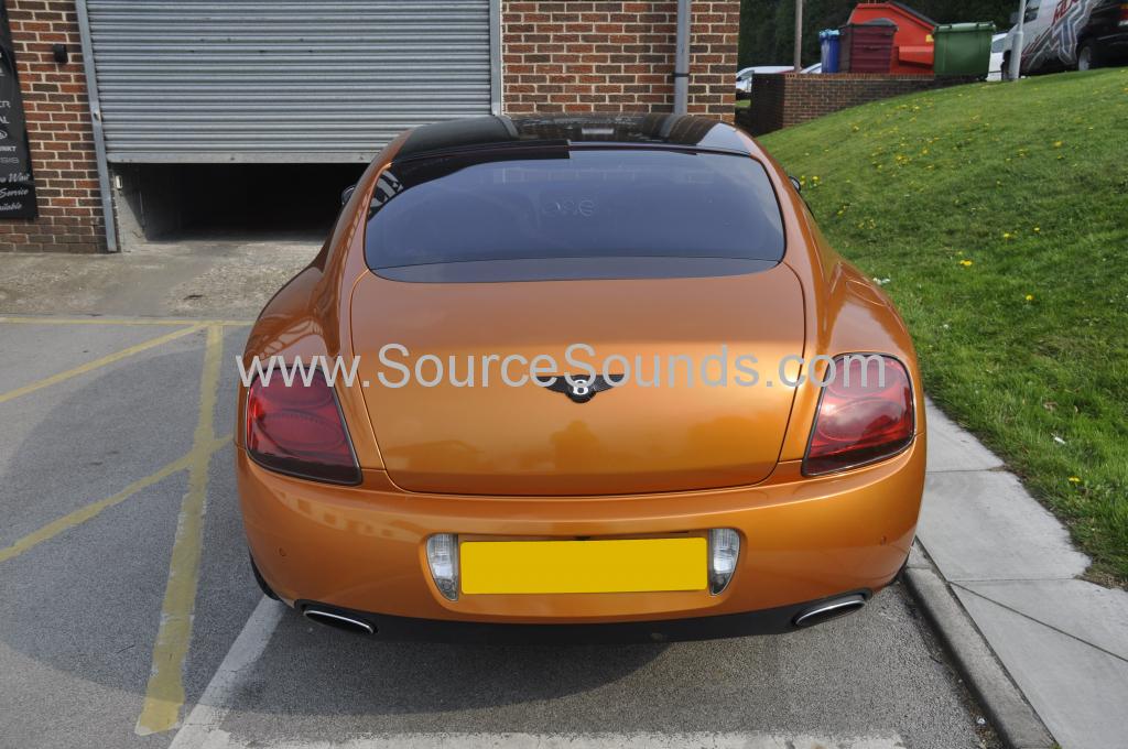 Bentley GT 2004 navigation upgrade 002