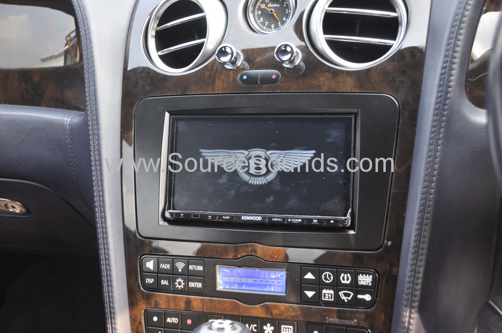 Bentley GT 2004 navigation upgrade 005