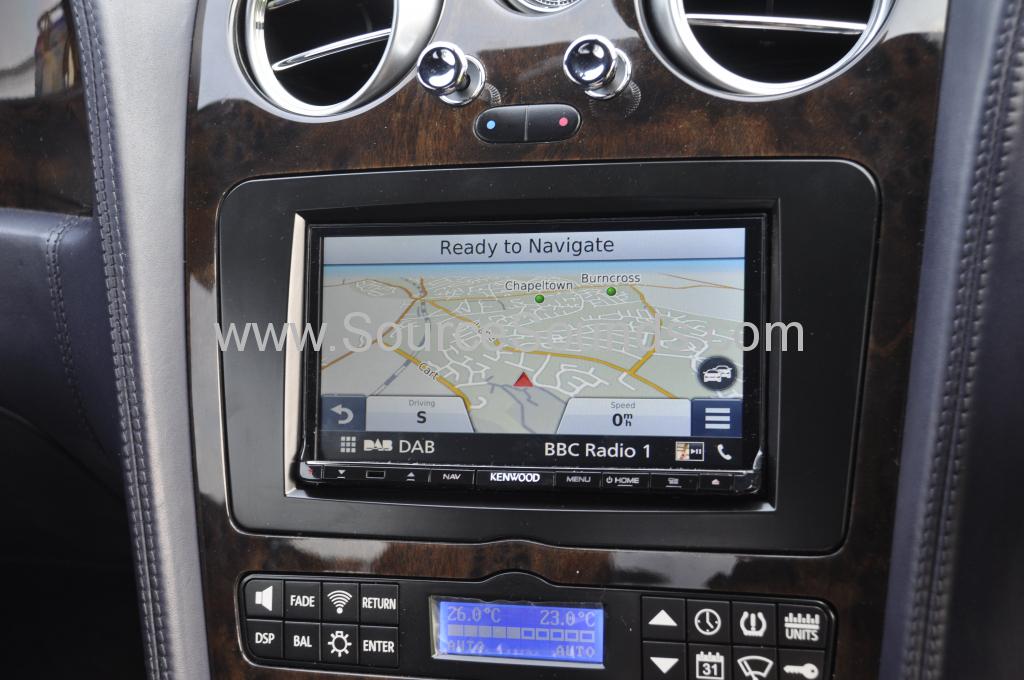 Bentley GT 2004 navigation upgrade 006