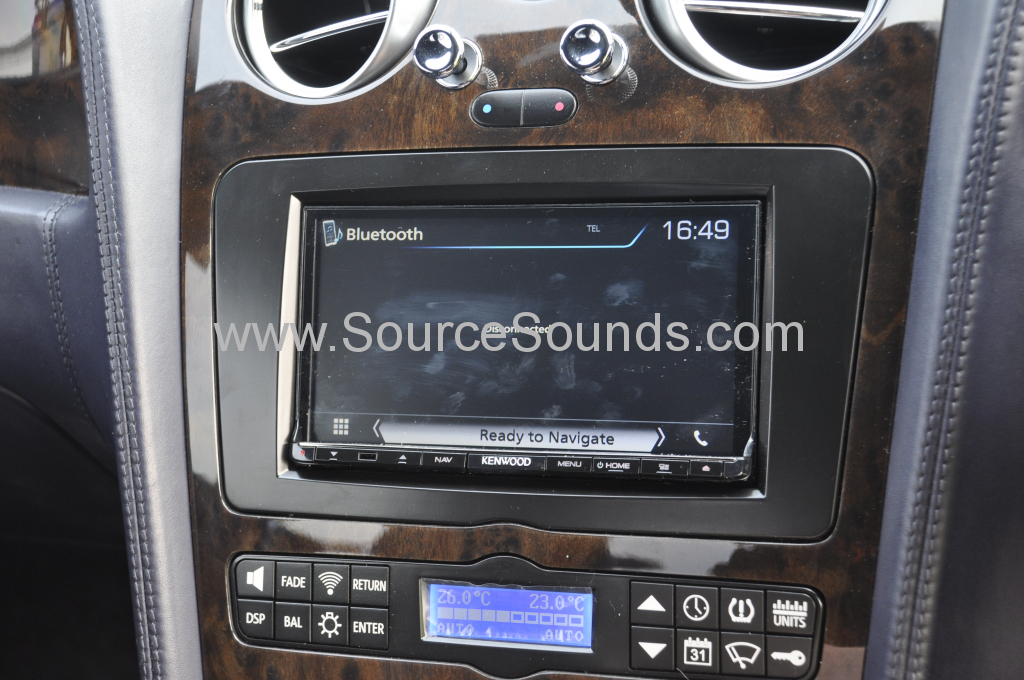Bentley GT 2004 navigation upgrade 008