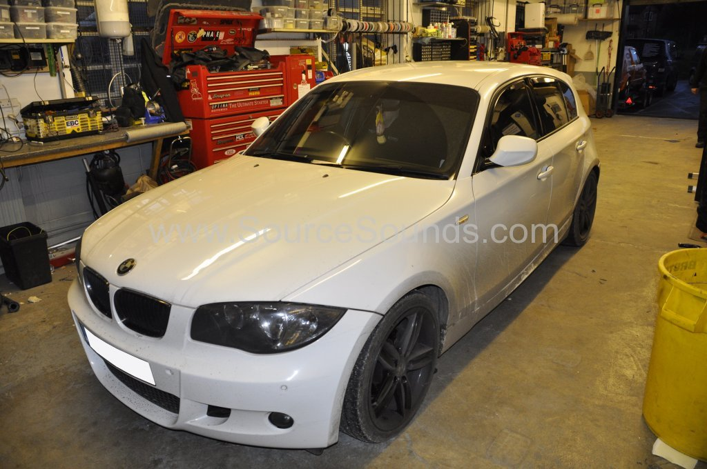 BMW 1 Series 2010 audio upgrade 001