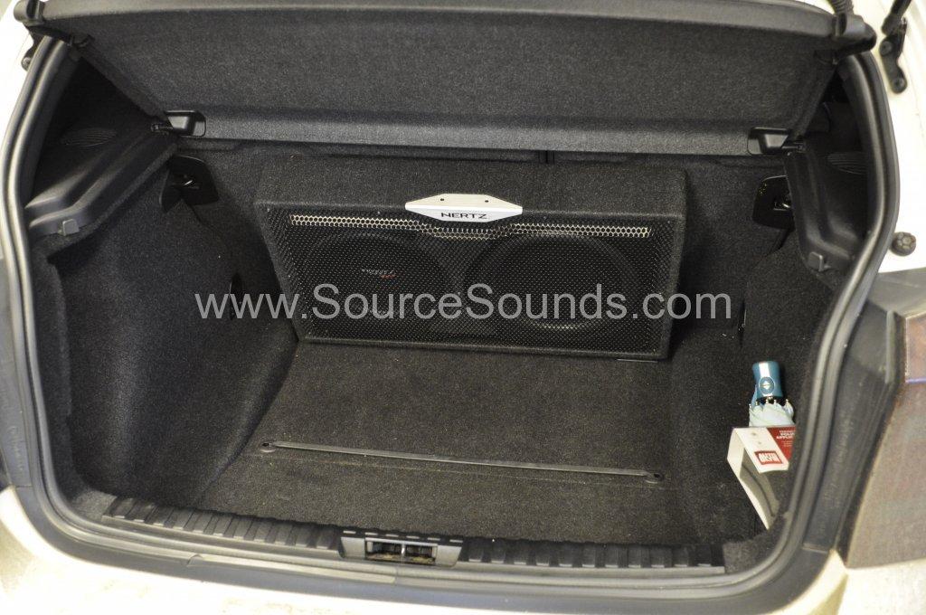 bmw 1 series 2010 audio upgrade source sounds. Black Bedroom Furniture Sets. Home Design Ideas