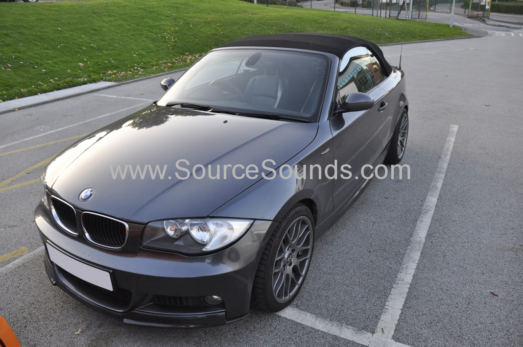 BMW 1 Series 2008 DAB upgrade 001