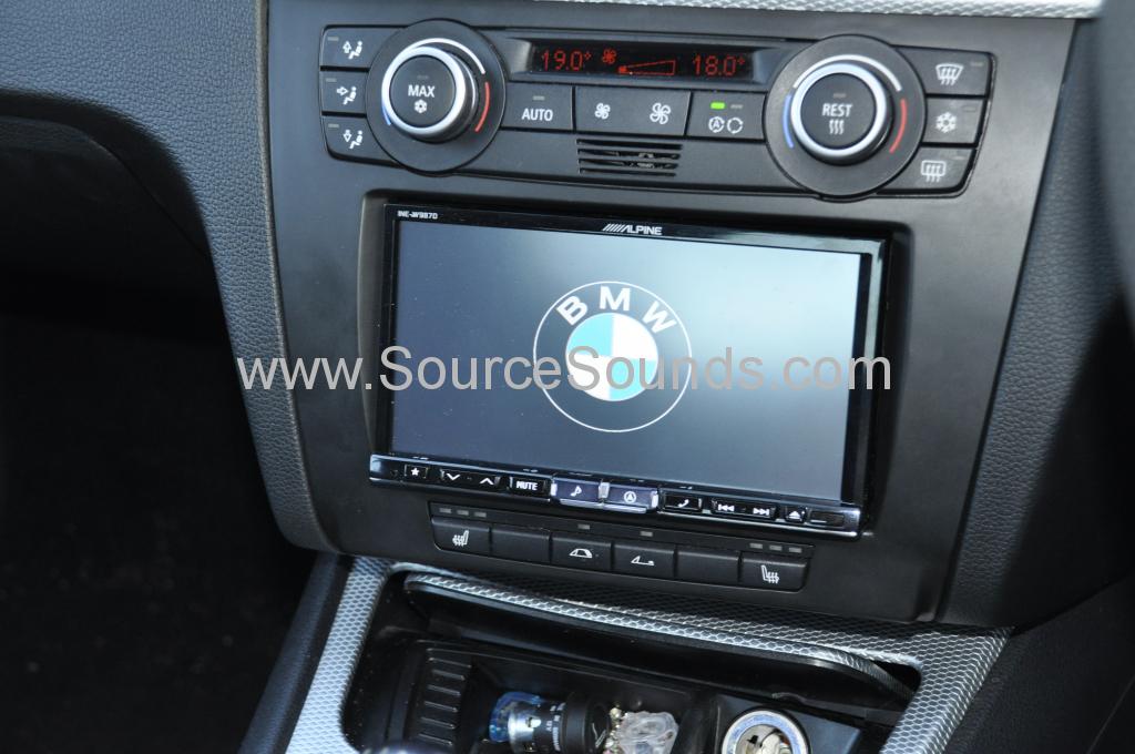 BMW 1 Series 2008 DAB upgrade 005