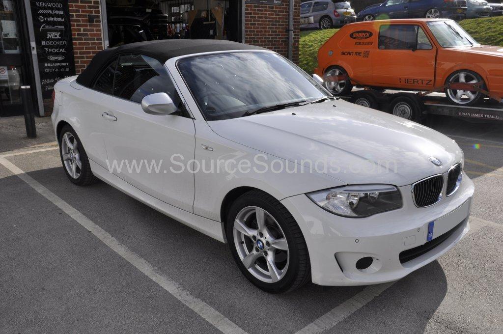 BMW 1 Series front rear parking sensor upgrade 001