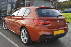 BMW 1 Series 2015 front and rear parking sensors 007