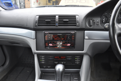 BMW 5 Series 2001 stereo upgrade 003