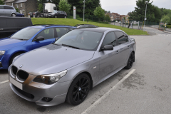 BMW 5 Series 2005 audio upgrade 001