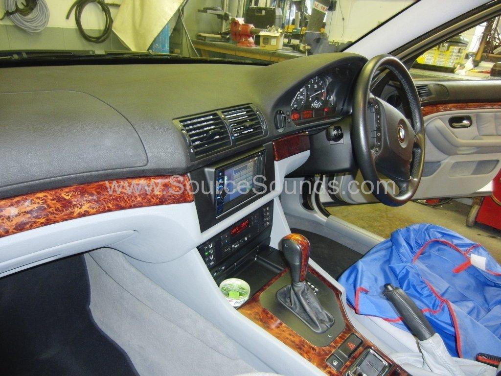 BMW 5 Series E39 2002 navigation upgrade 002