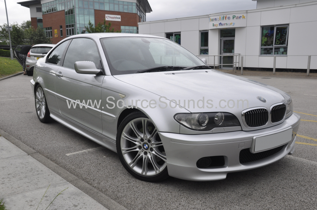 BMW 3 Series E46 DAB upgrade DMX 001