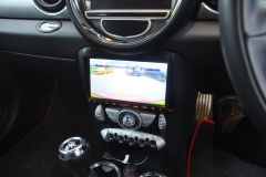 BMW Mini 2008 reverse camera upgrade 004