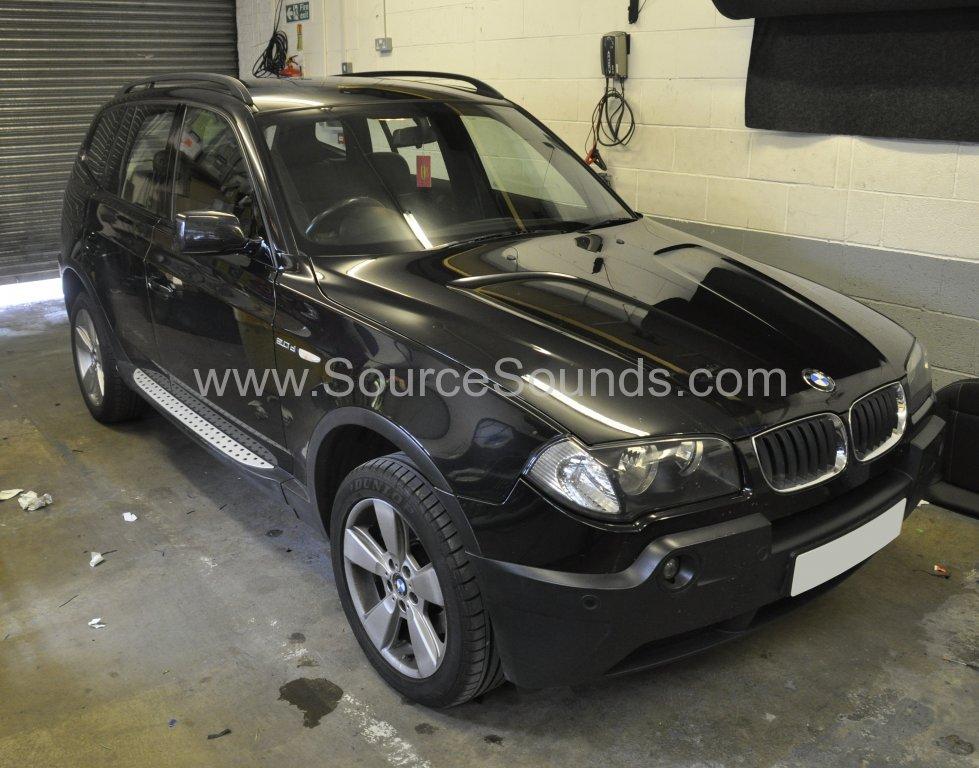 BMW X3 2005 navigation upgrade 001