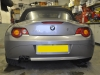 BMW Z4 2004 reverse camera upgrade 002