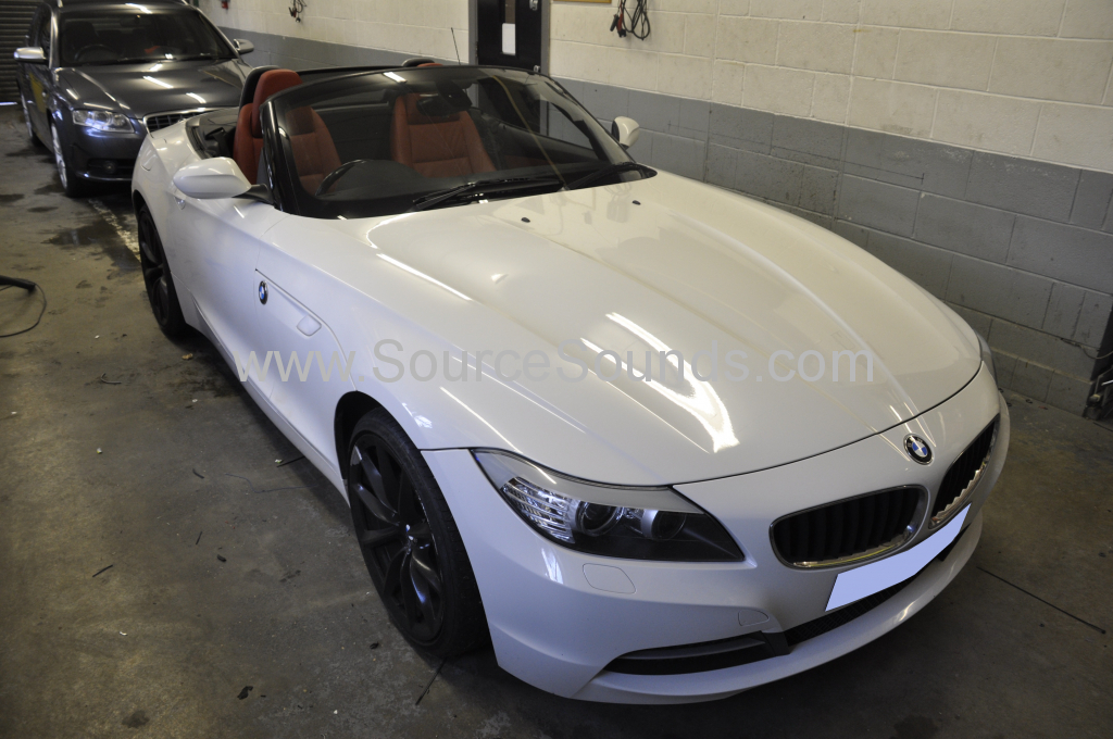BMW Z4 2010 navigation upgrade 001