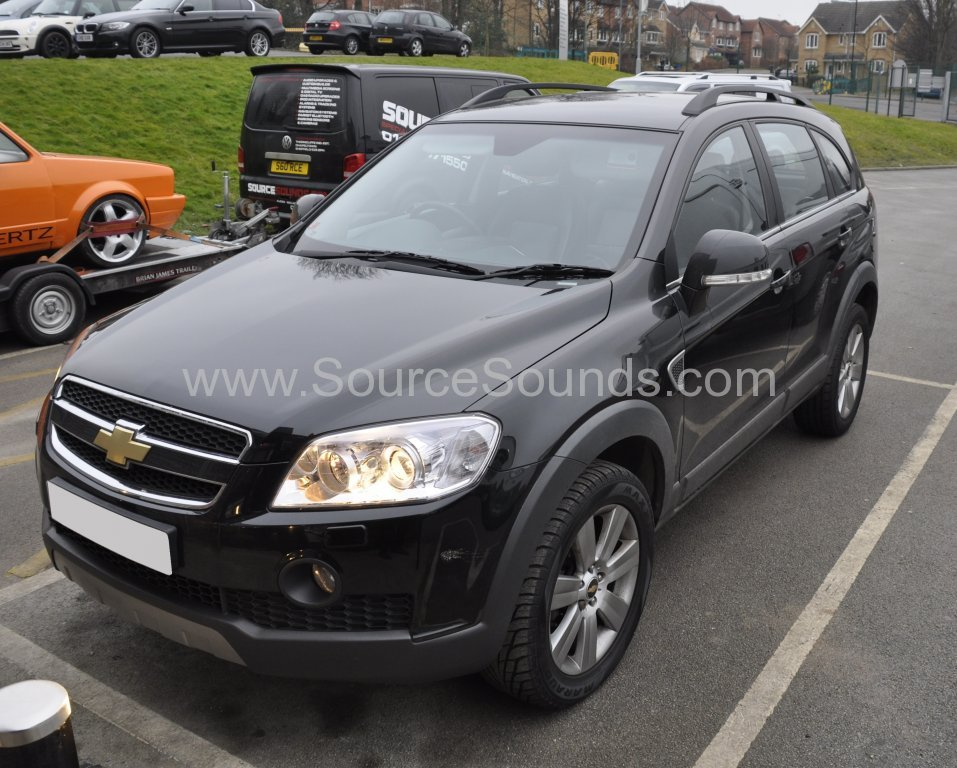 Chevrolet Captiva 2010 navigation upgrade 001