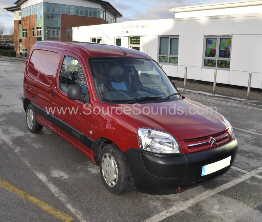 Citroen Berlingo 2007 aerial upgrade 001