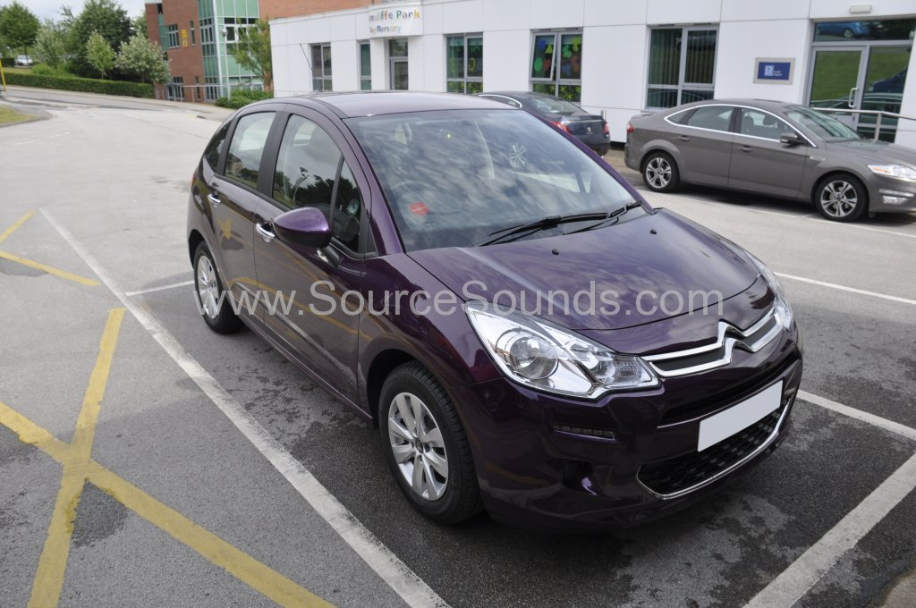 Citroen C3 2015 reverse camera mirror monitor 001