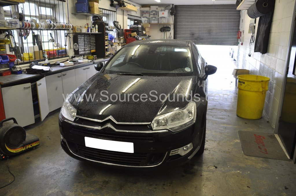 Citroen C5 2009 parking sensor upgrade 001
